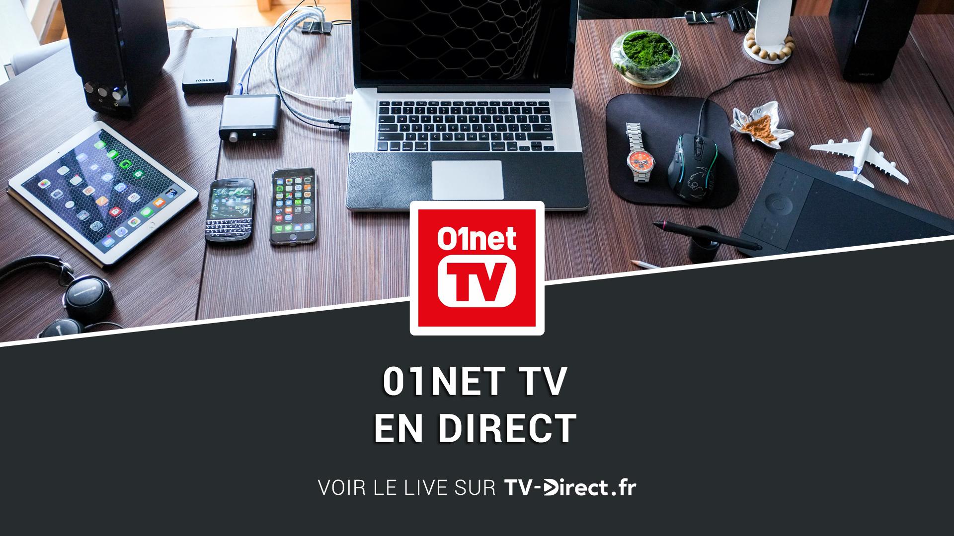 01net tv direct regarder 01net tv en direct live sur internet. Black Bedroom Furniture Sets. Home Design Ideas