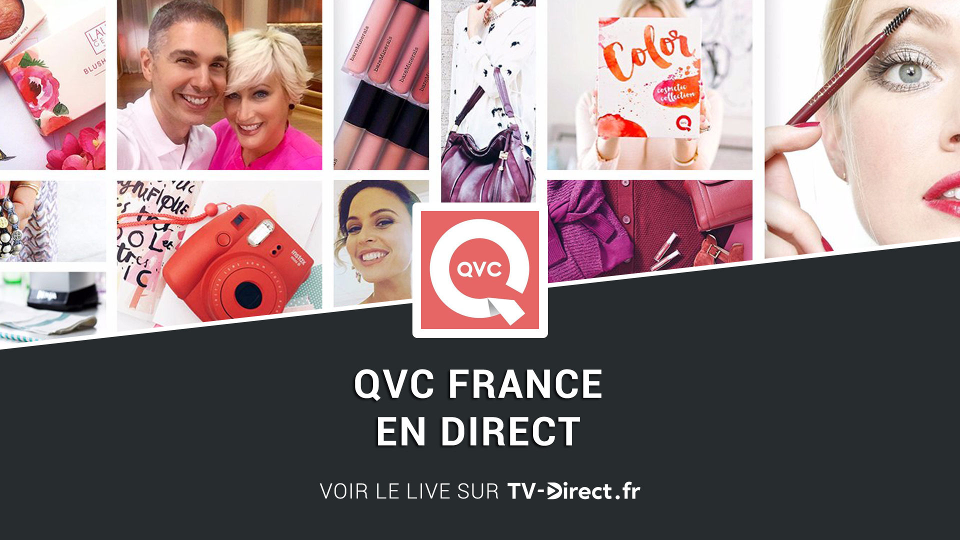 qvc france direct regarder qvc france live sur internet. Black Bedroom Furniture Sets. Home Design Ideas