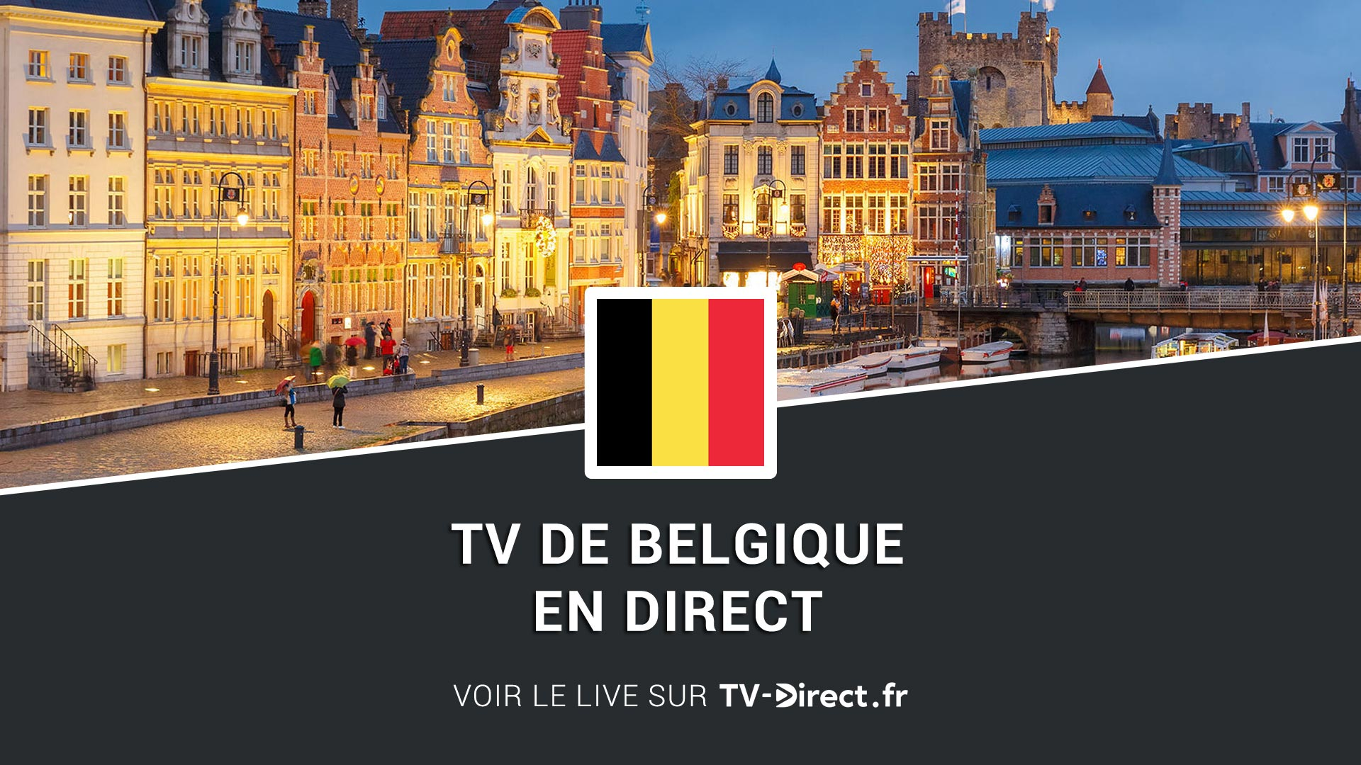 belgique tv en direct sur internet tv belge en direct. Black Bedroom Furniture Sets. Home Design Ideas