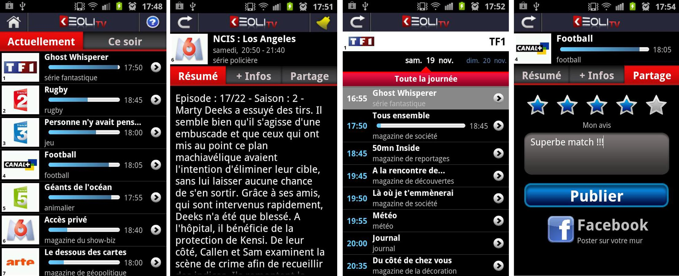 Application Android Keoli TV