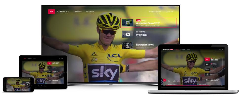 Tour de France streaming sur Eurosport player TV