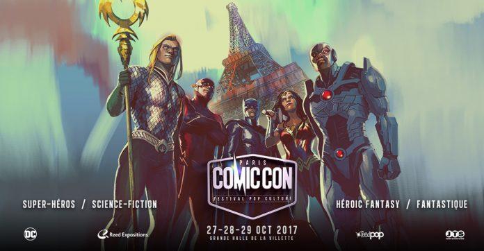 suivez le comic con paris 2017 en live cosplay vid o. Black Bedroom Furniture Sets. Home Design Ideas