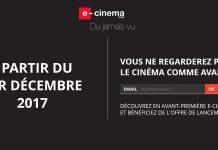 Plateforme e-cinema.com films streaming