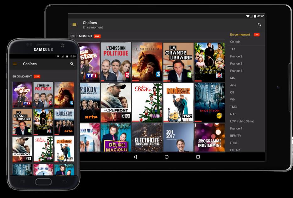 tv gratuite en direct sur pc et mobile android iphone. Black Bedroom Furniture Sets. Home Design Ideas