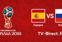 Espagne / Russie live streaming Coupe du Monde 2018