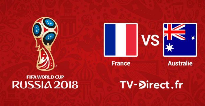 Coupe du monde 2018 france australie en live streaming sur internet - Coupe de france direct tv ...
