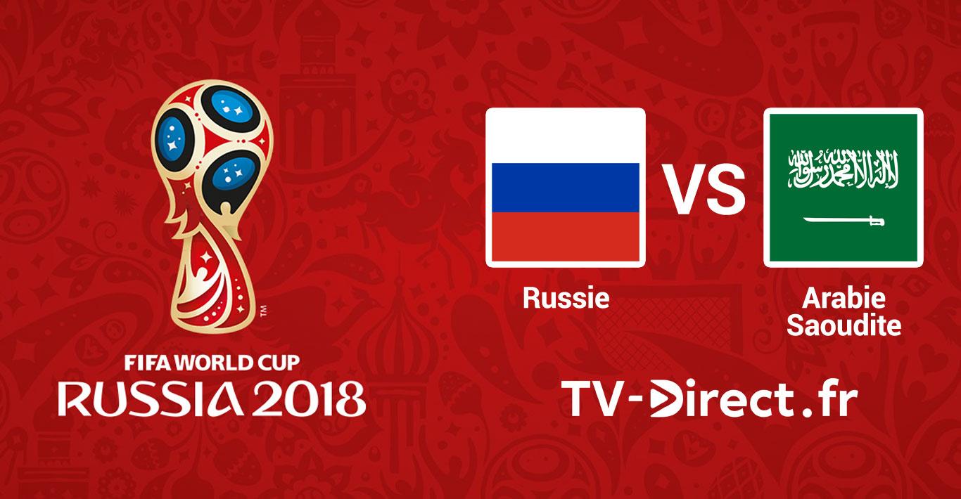Mondial 2018 russie arabie saoudite en live streaming - Coupe de france en direct sur internet ...