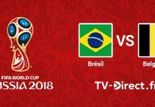 Brésil / Belgique en live streaming