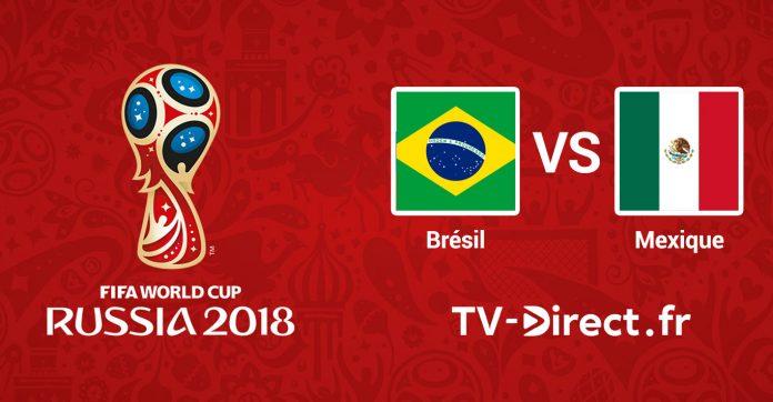 coupe du monde 2018 br sil mexique en live streaming sur internet. Black Bedroom Furniture Sets. Home Design Ideas