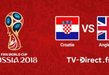 Croatie / Angleterre streaming