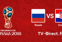 Russie / Croatie live streaming