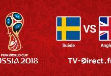 Suède / Angleterre en live streaming