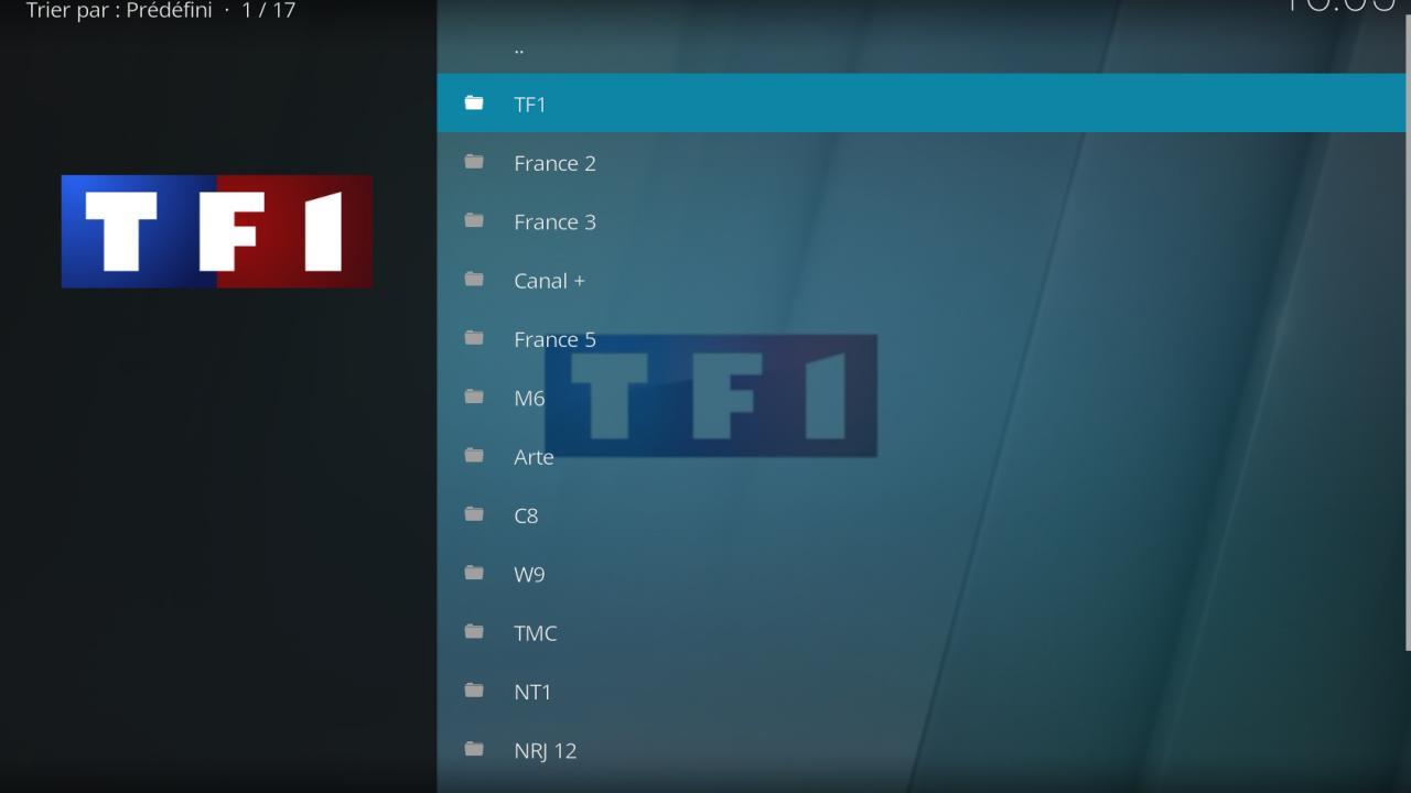 Kodi TV live streamig