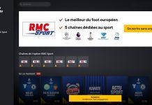 RMC Sport direct avec Molotov TV