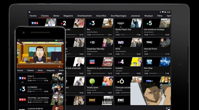 Application Box'n TV Freebox Multiposte