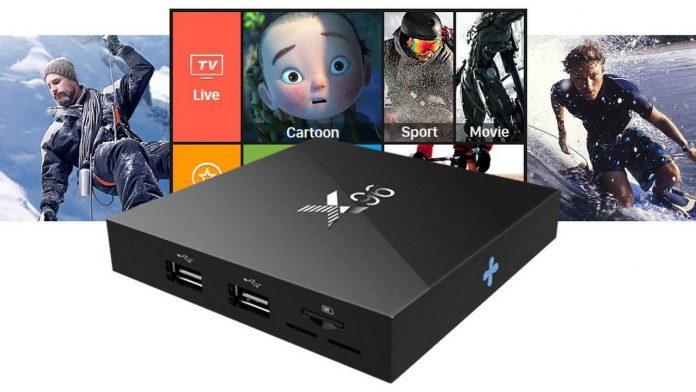 Box IPTV X96