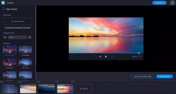 Fastreel montage vidéo gratuit en ligne